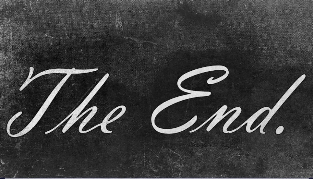 the end of my post about how to write engaging blog posts